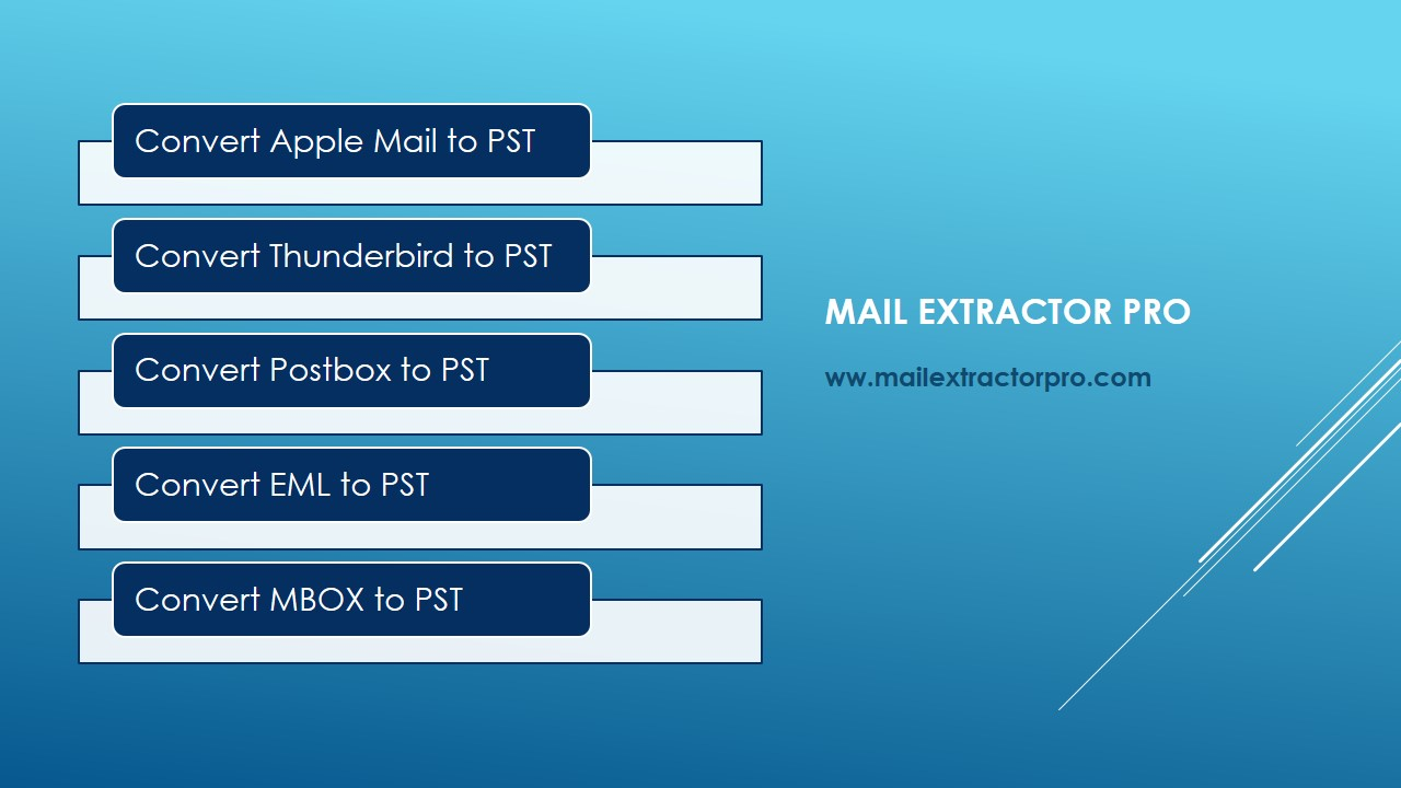 Export EML to PST with perfection and safety!